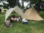 世界最軽量のソロ用タープを久しぶりにキャンプで使った