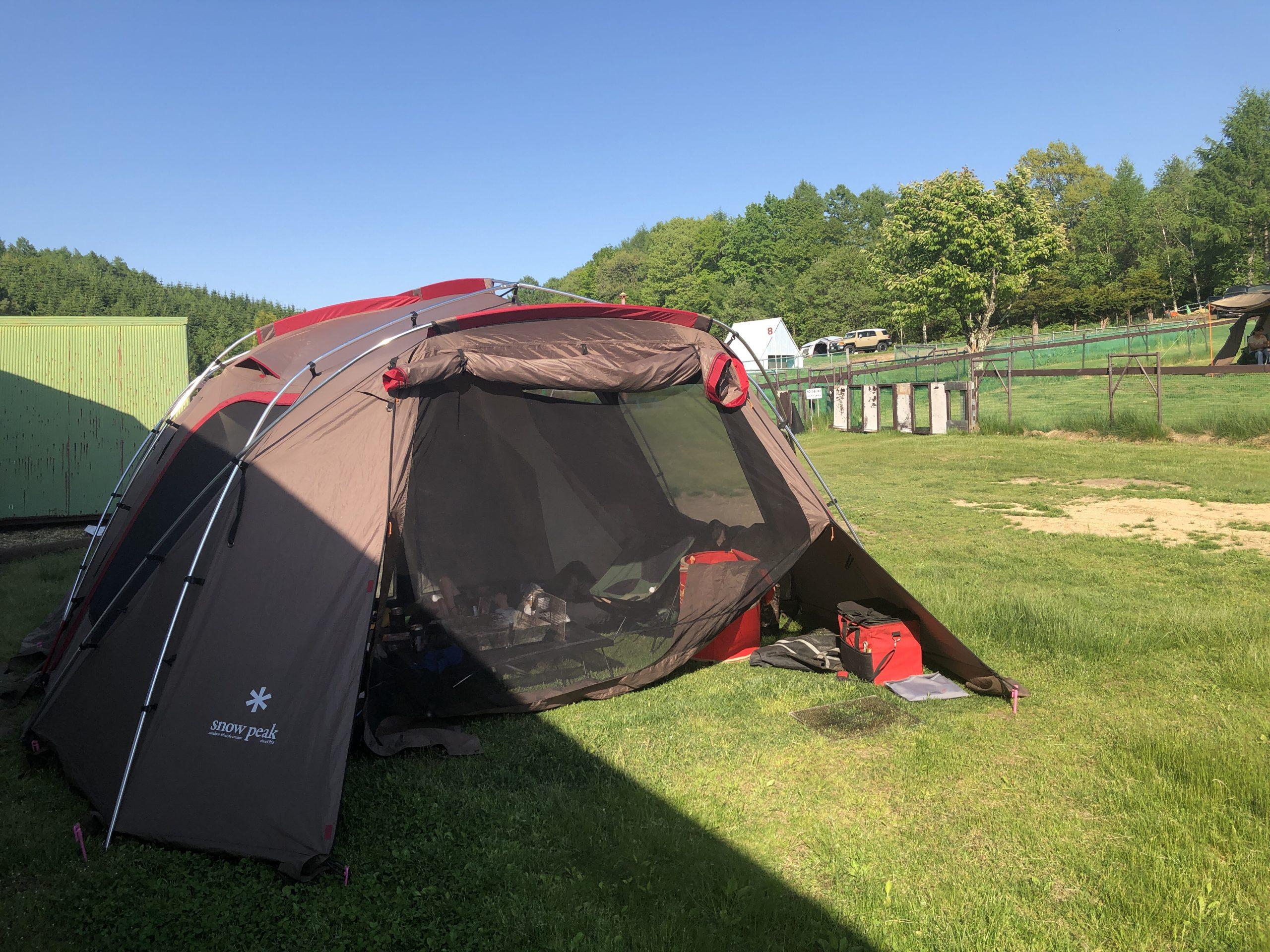 安平町のキャンプ場に行って来た
